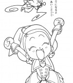 coloriage magical doremi 013